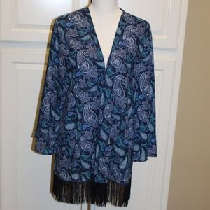 NWOT Faded Glory XXL (20) cardigan/kimono